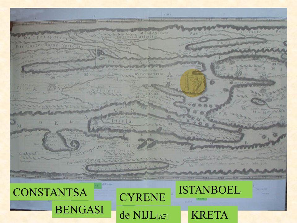 ISTANBOEL CONSTANTSA CYRENE BENGASI de NIJL[AF] KRETA